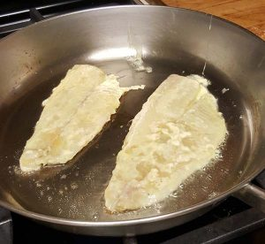 cooking sole